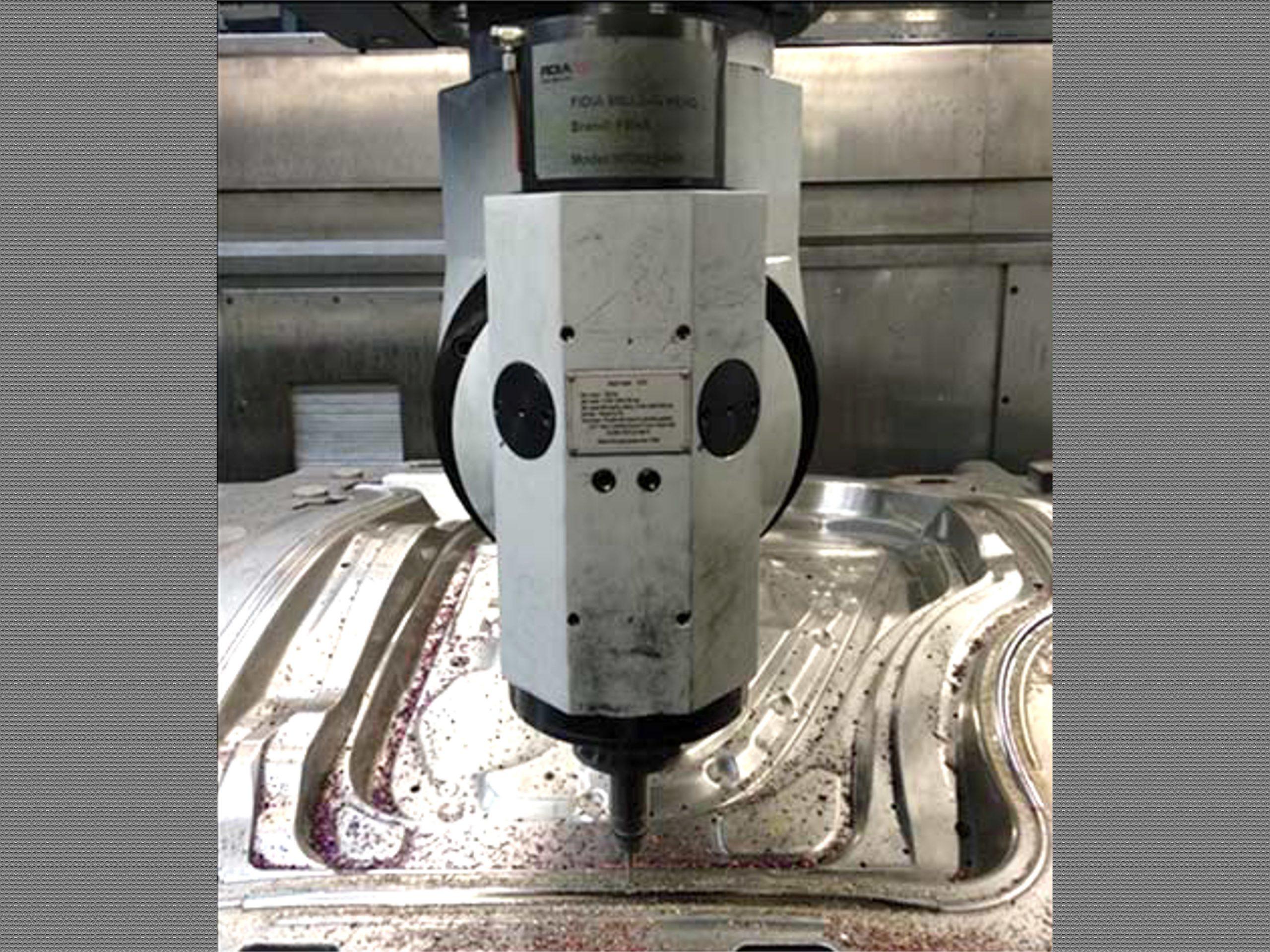 EMENA cabezal de fresado milling head CVOI maquina 5