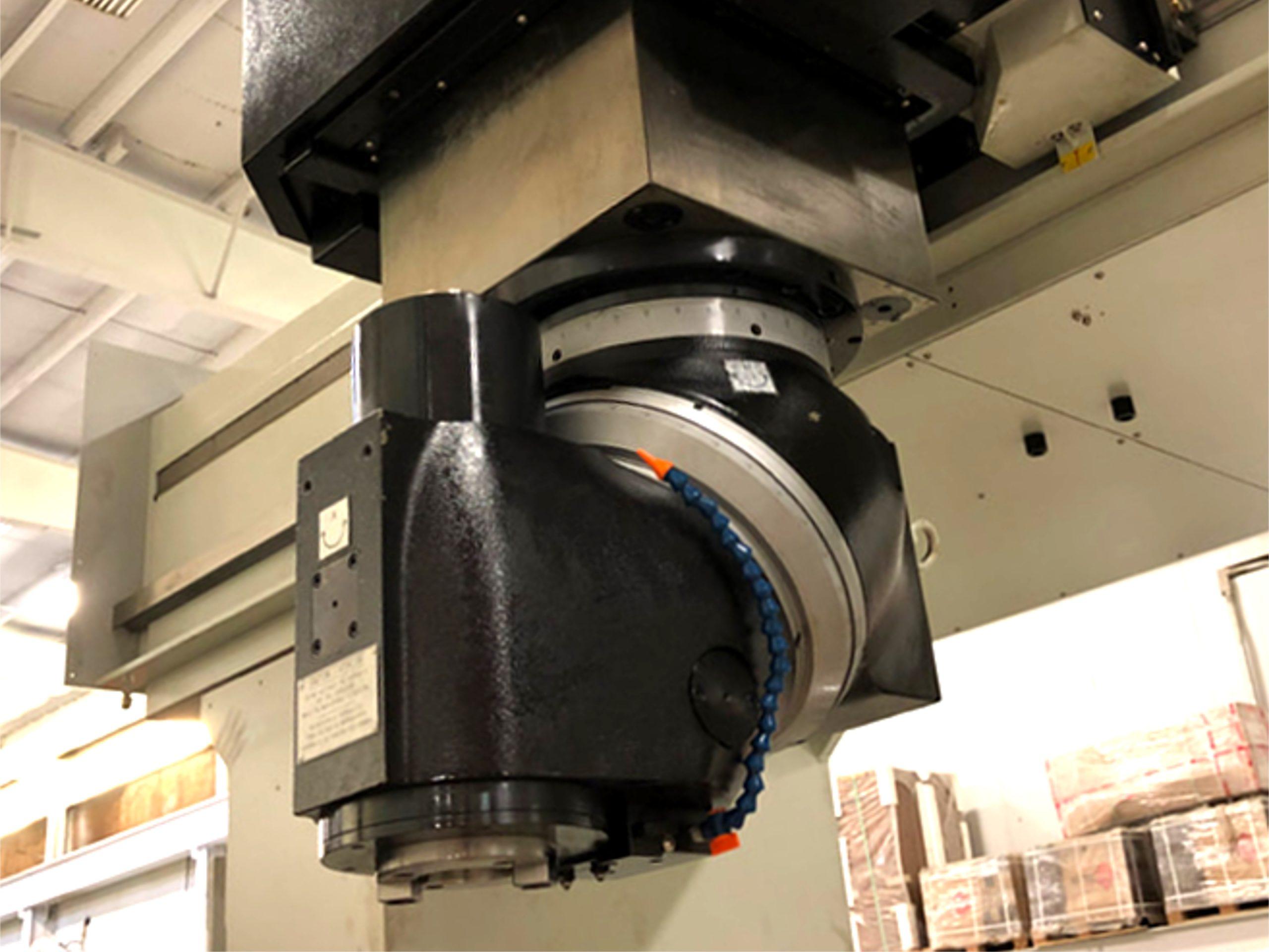 EMENA cabezal de fresado milling head VGCI en maquina